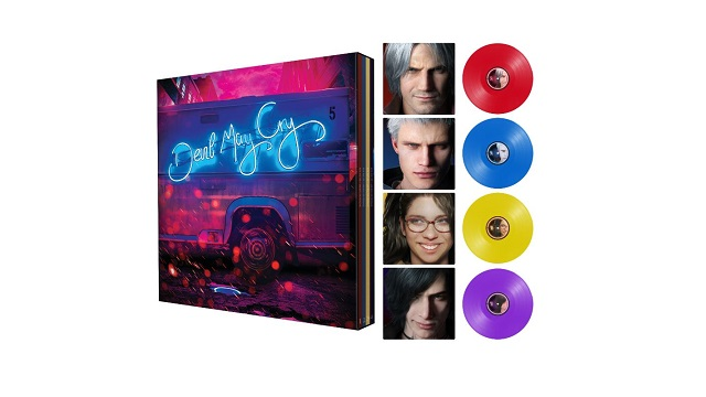 Devil May Cry 5 hitting vinyl