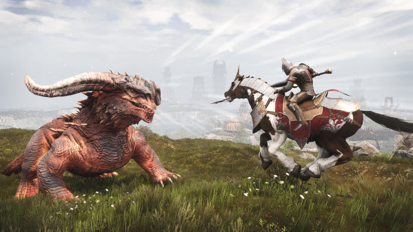 Mounts charge into Conan Exiles
