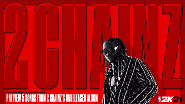NBA 2K21 to debut new tracks from 2 Chainz