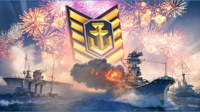 World of Warships celebrates 5th Anniversary