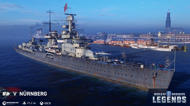 German navy sails into World of Warships: Legends