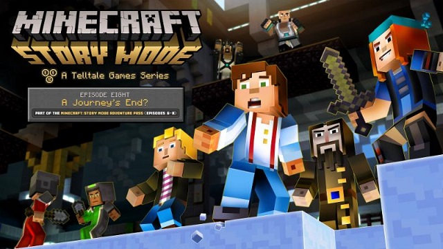 Minecraft: Story Mode reaching the end of its journey next week