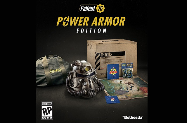 Fallout 76 release date set - Power Armor Edition revealed