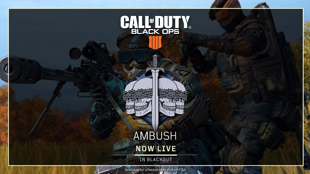 Black Ops 4 rolls out Update 1.12
