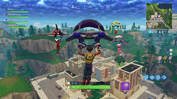 Fortnite Battle Royale lands on Switch