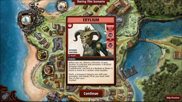 Pathfinder Adventures dealt to tablets