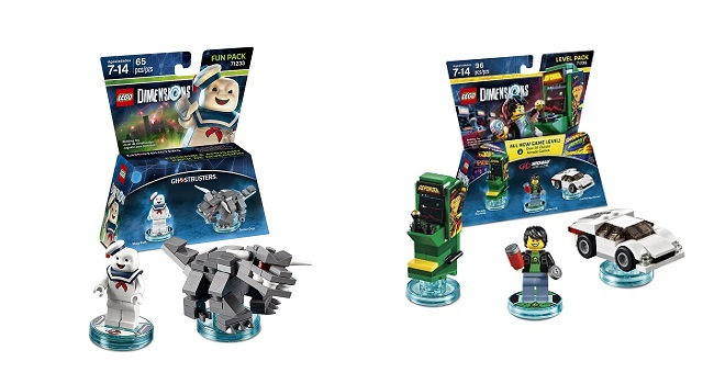LEGO Dimensions adds Midway Arcade Level Pack and three new Fun Packs