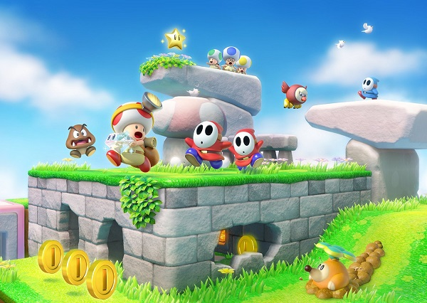 Captain Toad tracks into stores on Friday
