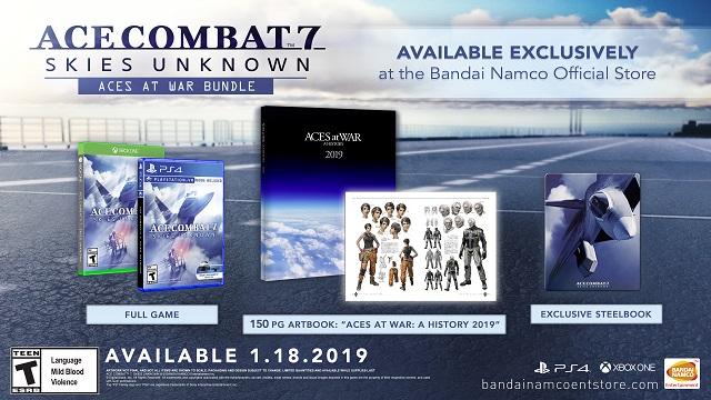 Ace Combat 7 Aces at War bundle revealed
