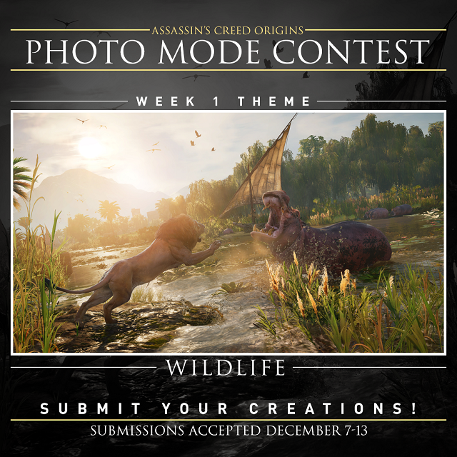 Assassin's Creed launches photo contest