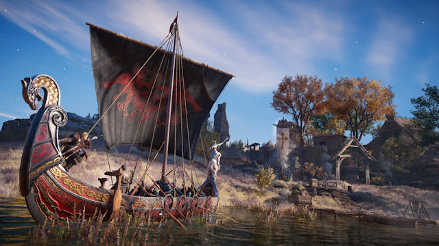 Assassin's Creed Valhalla goes river raiding