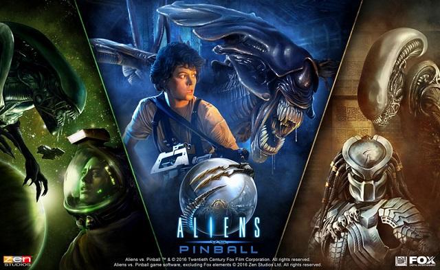 Aliens vs. Pinball pack released