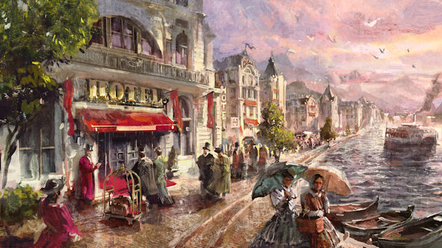 It's Tourist Season in Anno 1800