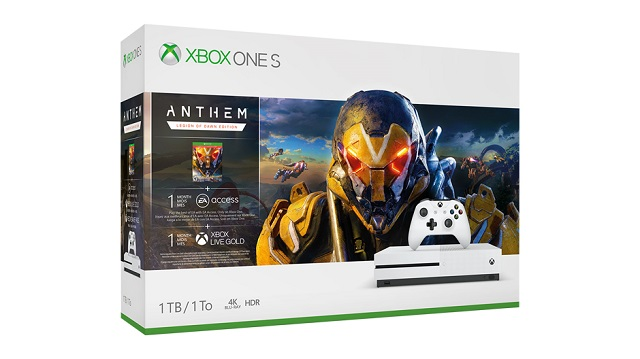 Xbox Anthem Bundle launching this month