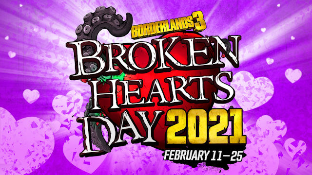 The next two weeks are Broken Hearts Day