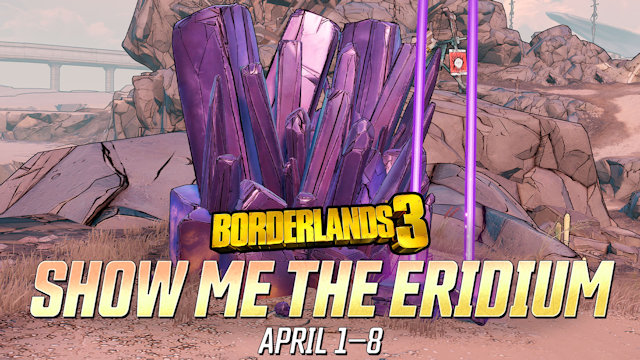 Borderlands 3 wants you to Show Me the Eridium