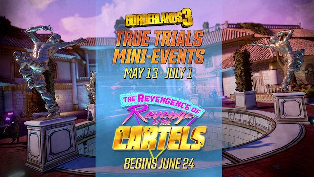 Borderlands 3 facing a series of trials