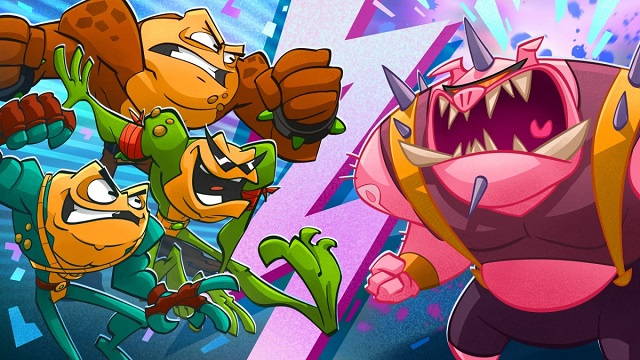 Battletoads leap into release in August