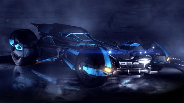 Batmobile coming to Rocket League