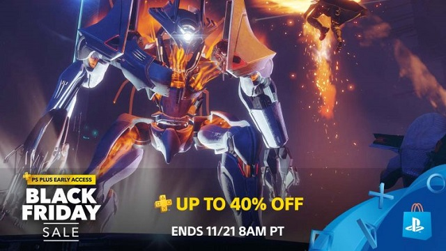PlayStation Store opens Black Friday sale to PSPlus members news image