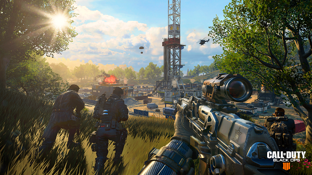 Call of Duty: Black Ops 4 Blackout Beta launched