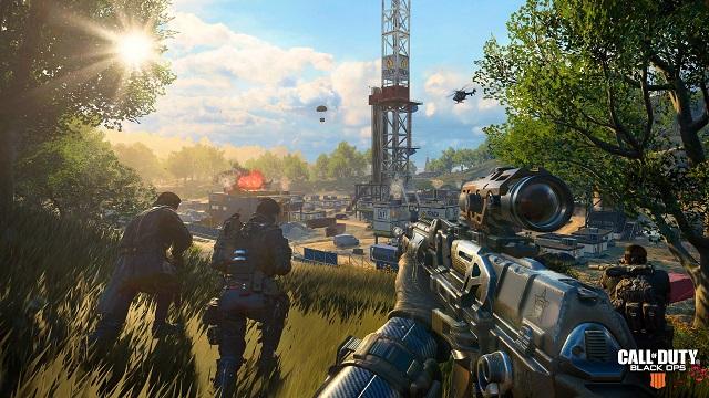 Black Ops 4's Blackout Free Trial begins