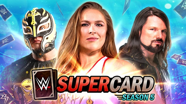 WWE SuperCard launches Season 5
