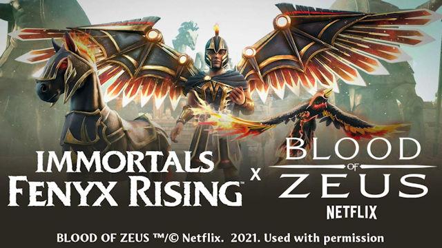 Blood of Zeus crosses over into Immortals Fenyx Rising
