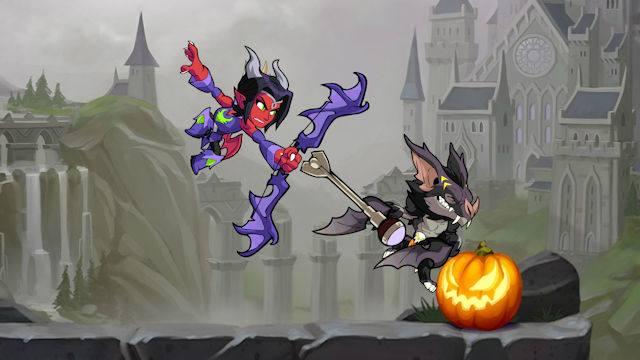 Brawlhalloween is here