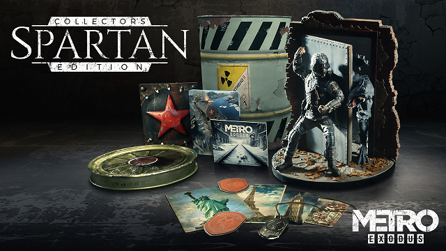 Metro Exodus reveals Spartan Collector's Edition