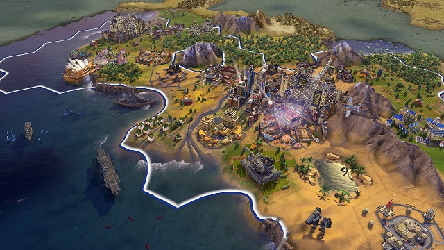 Fall 2016 update for Civilization VI released