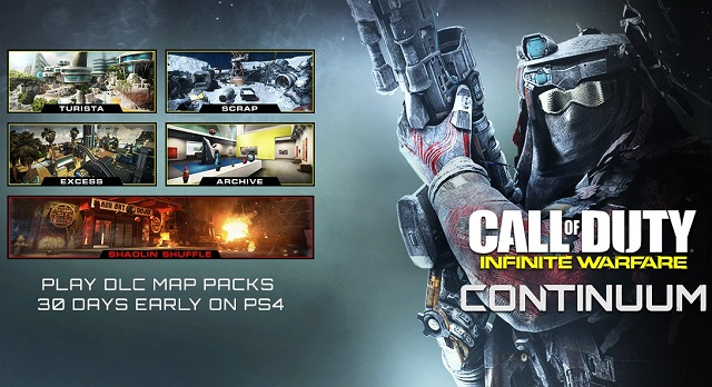 Infinite Warfare releases Continuum on PlayStation 4