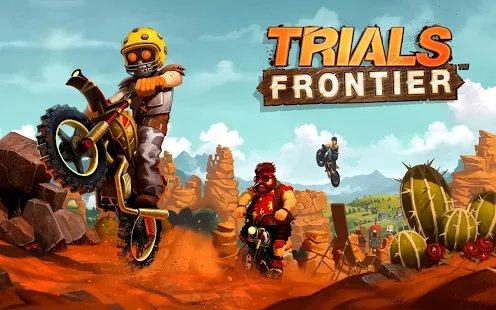 Trials Frontier now on Android