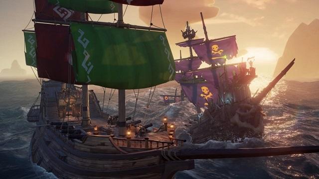 Sea of Thieves sailing onto Steam