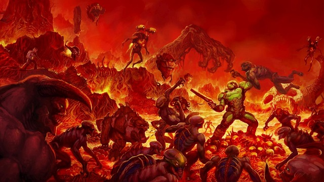Play DOOM for free on Xbox One this weekend