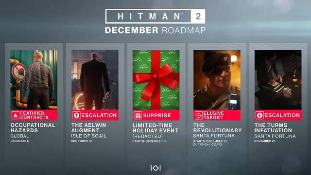 IO Interactive details free live content coming to HITMAN 2 in December