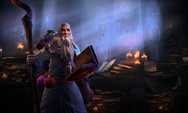 Deckard Cain will be newest hero of the storm