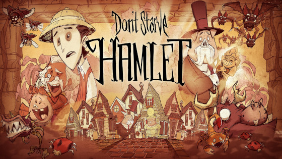 Don't Starve arrives in the town of Hamlet