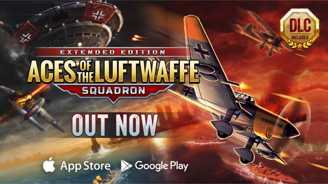 Aces of the Luftwaffe - Squadron lands on mobile.