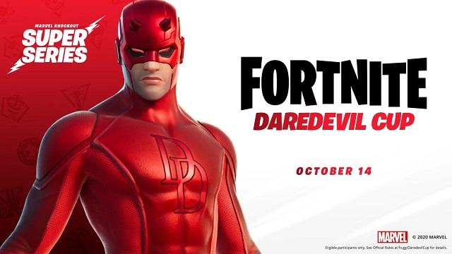 Fortnite hosting Daredevil Cup