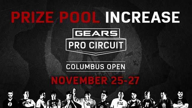 Prize pool for the Gears Pro Circuit MLG Columbus Open grows