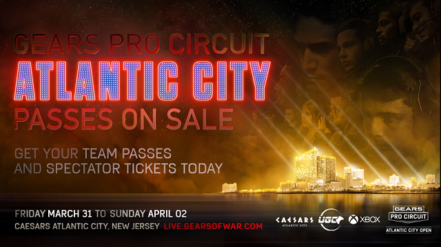 Gears Pro Circuit heads to Atlantic City for open tournament