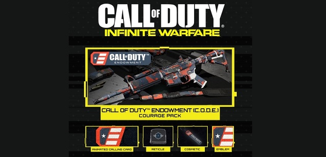 Pick up a personalization pack in Call of Duty: Infinite Warfare to help a veteran news image