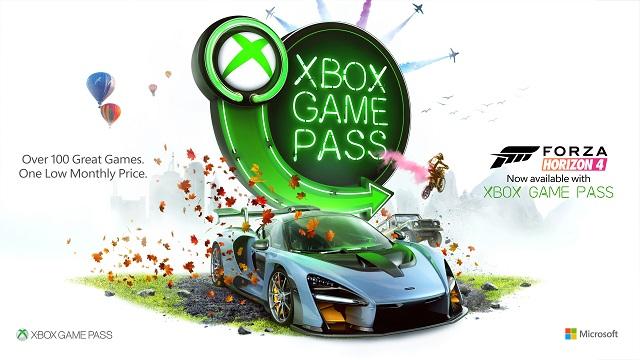 Forza Horizon 4 now on Xbox Game Pass