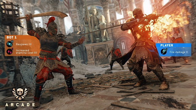 For Honor reveals Arcade Mode