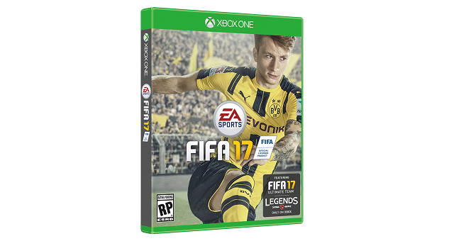 FIFA 17 has its cover athlete
