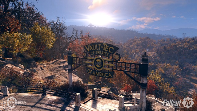 Fallout 76 opens the vault doors