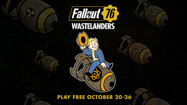 Bombs Drop Day means free Fallout 76 play