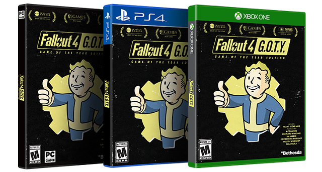 Fallout 4 Game of the Year Edition drops into release