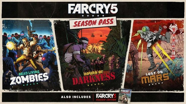 Far Cry 5 Season Pass details revealed